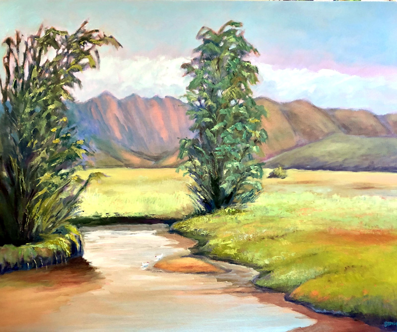 Impressions of Kawainui Marsh